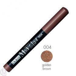 Pupa Milano Made To Last Eyeshadow 004 - Golden Brown