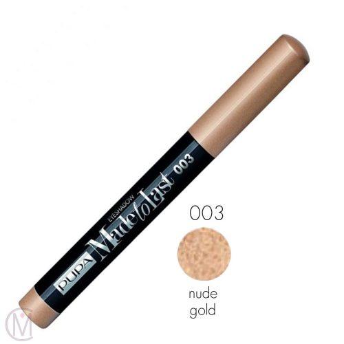 Pupa Made To Last Eyeshadow 003 Nude Gold MC