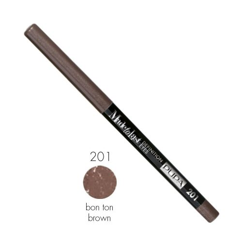 Pupa Made to last Definition Eyes 201 Bon ton Brown