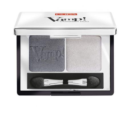 Pupa Vamp! compact duo eyeshadow 009 silver stone