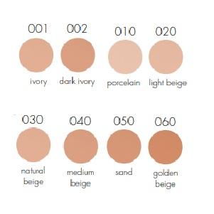 PUPA Active Light Foundation kleuren