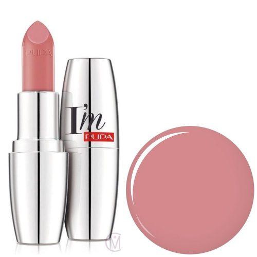 Pupa I'm Pupa lipstick 401 Fluffy Pink