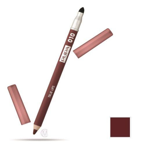 Pupa True Lips Lip Liner10 Burnt Sienna, Lipcontourpotlood met een mooi Natuurlijk Effect