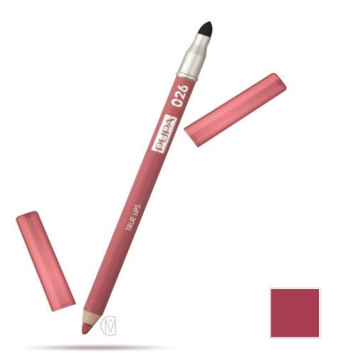 Pupa True lips Lip Liner 26 Pink, Lipcontourpotlood
