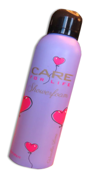 Care For Life Shower Foam Vanilla