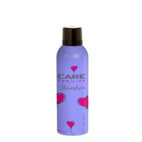 care for life shower foam vanilla lime