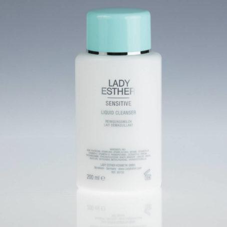 Lady Esther Sensitive Liquid cleanser, Zachte, Intensieve Reinigingsmelk