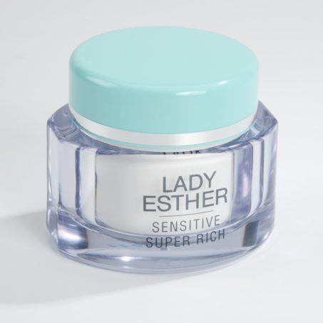 Lady Esther Sensitive super rich cream, een nachtcrème rijk aan werkstoffen