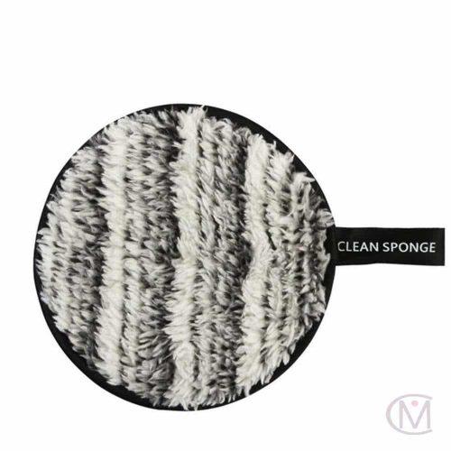 Schoonmaak Make up Spons Pad clean sponge. Grijs