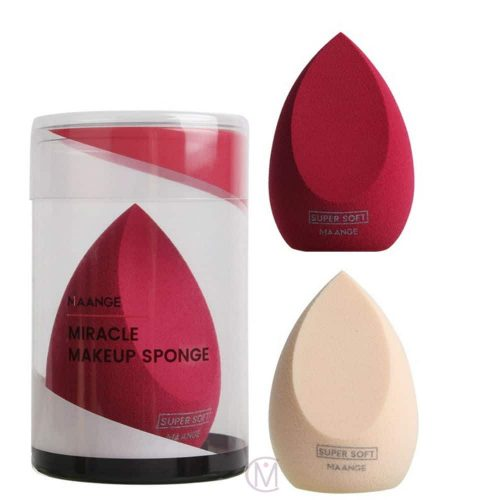 Beauty-Puff blender Spons, Make-Up Accessoire Voor je Foundation verzamel kleuren www.mooiecosmetica