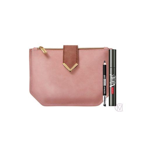 Pupa Vamp! Kit Mascara All-In One + Multiplay Oogpotlood + Luxe Make-Up Tasje
