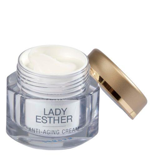 Lady Esther Anti-aging, en 3 ampullen , hoogwaardige 24-uurs Verzorgingscrème