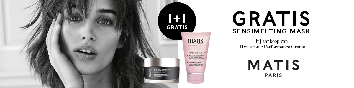 Matis Paris Actie Matis Reponse Corrective Hyaluronic Performance NU Met Gratis SensiMelting Masker