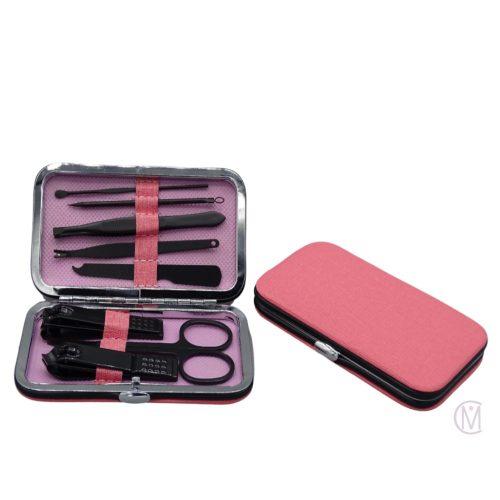 Manicure Pedicure Set 8 Stuks, Nagel Schaar Pincet Nagel knipper Verzorging