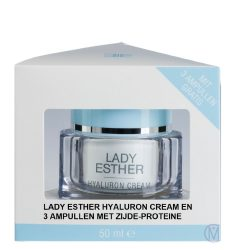 Lady Esther Hyaluron Cream met 3 ampullen