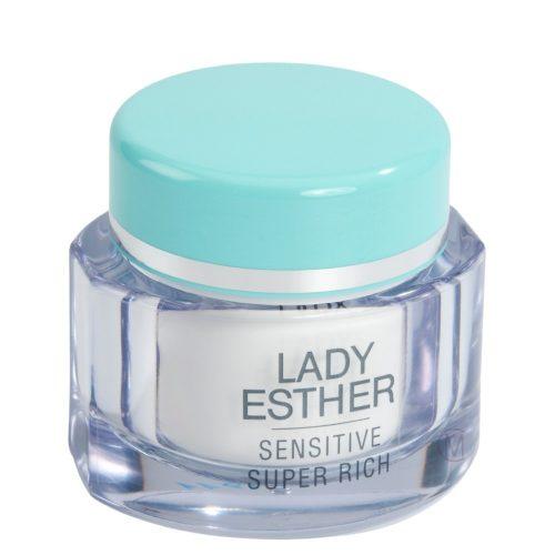 Lady Esther Sensitive super rich cream, een nachtcrème
