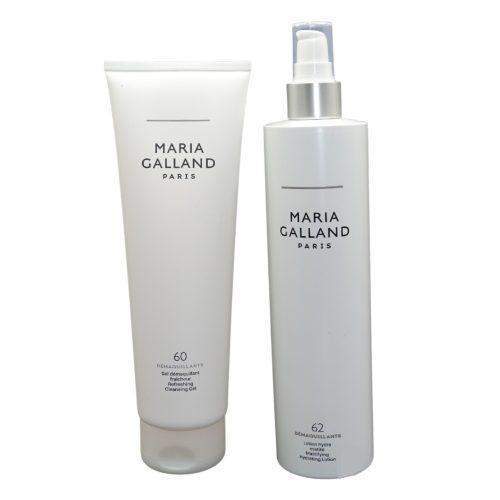Maria Galland 60 & 62 XXL 400 ml Duo Demaquillant Purifying Cleansing Du