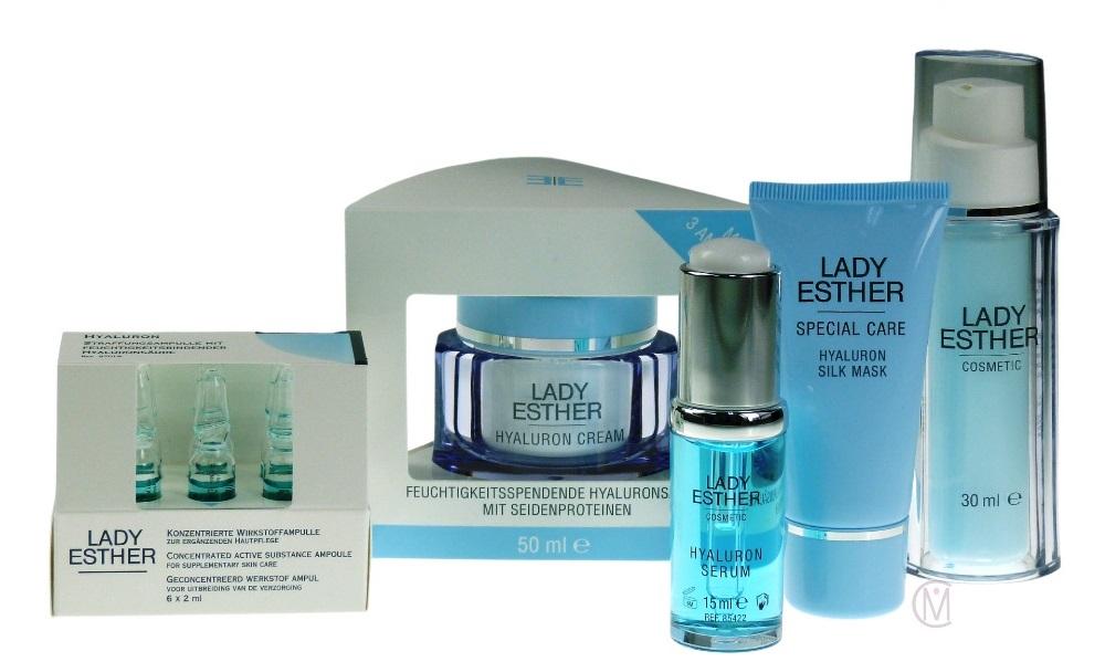 Lady Esther Hyaluron Lijn Mooiecosmetica