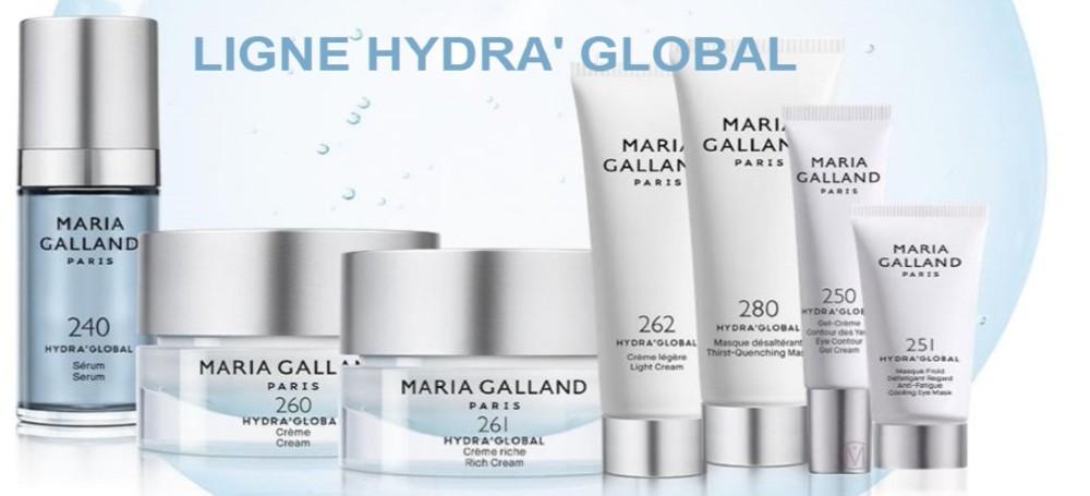 Maria Galland Ligne Hydra' Global banner Mooiecosmetica