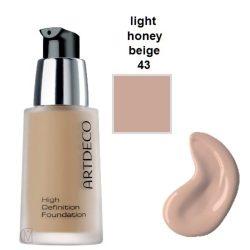 Artdeco High Definition Foundation -43 Light Honey Beige MooieCosmetica