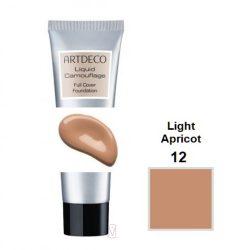 Artdeco Liquid camouflage full cover FDT 12 light apricot 4052136070576