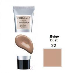 Artdeco Liquid camouflage full cover FDT 22 beige dust 4052136070606