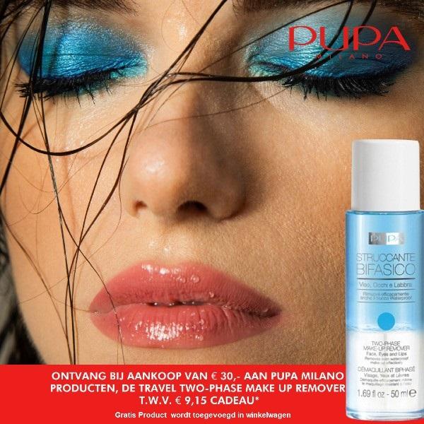 PUPA Maandactie juli - home page Mooiecosmetica