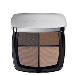 Reviderm Mineral Quattro Eyeshadow 1W Chocolate Shades MooieCosmetica